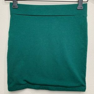 Forever 21 Green Pencil Sexy Skirt S
